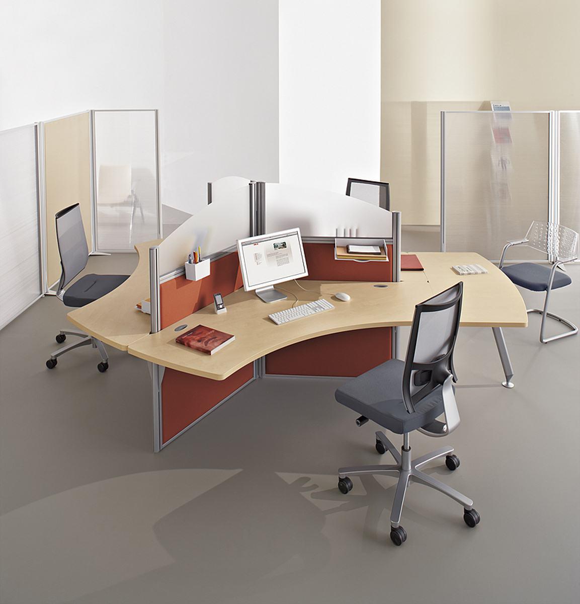 Repenser son espace de travail avec mobilier de bureau - Jeu de travail au bureau ...