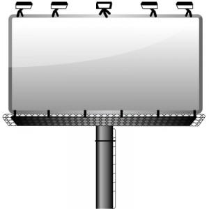 Panneau LED extérieur